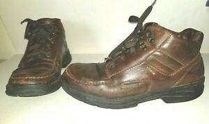Broken in Brown Leather  MEPHISTO Gore-Tex Size 8.5  Lace Up Casual Boots
