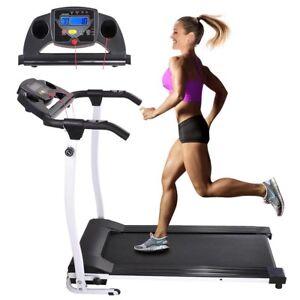 1100W Folding Electric Treadmill Running Fitness Gym Portable Motorized Machine
