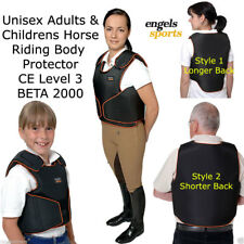 ENGELS YOUTH HORSE RIDING BODY ARMOUR CHILDRENS PROTECTOR JUMPING KIDS VEST XS