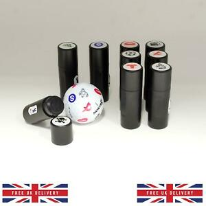 Various Golf Ball Stamper Stamp Marker Personalize your Golf Balls