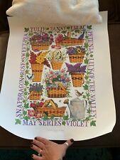 Longaberger Grandma Bonnie May Series Basket Poster