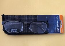 FOSTER GRANT Readers CORE Reading Glasses +2.00 With case