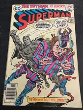 Superman#305 Awesome Condition 5.5(1976) Toyman Death!!