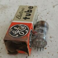 Vintage NOS/NIB GE 6ES8 ECC189 Vacuum TUBE Tests 100% x 2, STRONG TUBE! HOLLAND
