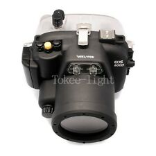 Underwater Waterproof Housing Camera Case for Canon EOS 600D Rebel 18-55mm lens