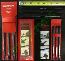 New Snap On 3 Pcs Plastic Prying & Smoothing Tool Set & Vinyl Case - PPN300 USA