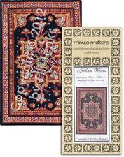 Miniature Rug Carpet Cross Stitch or Needlepoint Pattern - Jackson Waters