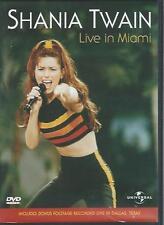 DVD - SHANIA TWAIN LIVE IN CHICAGO + DALLAS footage