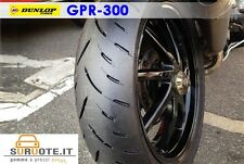 COPPIA DUNLOP GPR 300 120/70 17  180/55 17