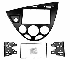 Double Din Radio Fascia for Ford Fiesta Focus Stereo Panel DVD CD Frame LHD
