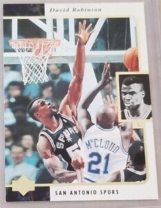 David ROBINSON 1995-96 Upper Deck SE #122 / Spurs / Mint