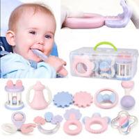 Infant Rattles Teething Baby Toys BPA Free Shake /& Grasp Teethers Toddler 10pcs