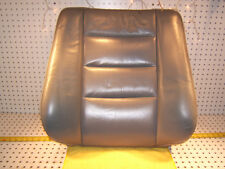 Mercedes Late W126 Front seat LEATHER gray L OR back OEM 1 Cover & pad, NO Heat