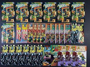 LAST ONES Lot of (30) Judge Dredd (1984-86) Eagle & Quality Comics