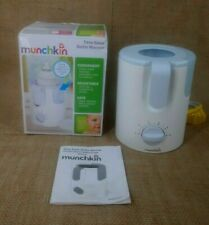 MUNCHKIN Electric Time Saver Bottle Warmer White Model MCKNW-1892 TESTED