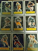 1984 TOPPS FOOTBALL GLOSSY SEND-IN COMPLETE SET OF (30) NM