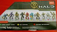 2019 MEGA CONSTRUX HALO PRO BUILDERS GOLD Series 10 Blind Bags, YOU PICK,SEALED
