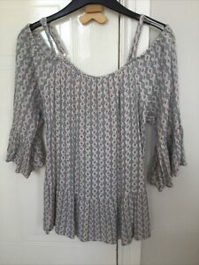 Used Ladies Marks And Spencer Indigo Top