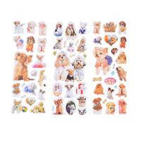 3Sheets Kawaii Dogs Animals Scrapbooking Bubble Puffy Stickers Reward Kids To Kd