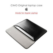 Genuine Leather Protect Case Bag For MacBook Air Pro 11 12 13 13.3 14 15 15.4 16