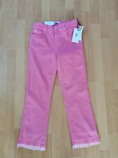 Ladies 7 for all mankind cropped boot unrolled jeans size 28 bnwt