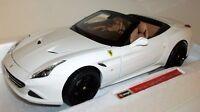 Burago 1/18 scale 18-16904 Ferrari California T open top white Signature series