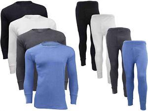 Set Men's Thermal Tights Thermal Long Underwear Undershirt Long M-3XL