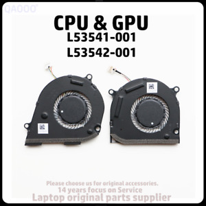L53541-001 / L53542-001 HP ENVY X360 15-DS TPN-W142 TPN-W143 CPU COOLING FAN