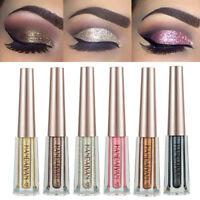 Glitter Liquid Eyeshadow Waterproof Long Lasting Shimmer Eyeliner Cosmetic