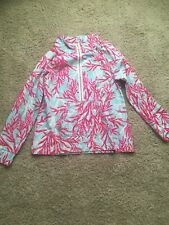 EUC Lilly Pulitzer Skipper Popover Underwater Escape XL