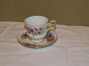 Queen Anne Bone China Tea Cup & Saucer Made In England