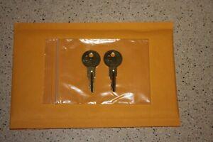 RH01-RH50 2- Keys for Craftsman toolbox Tool Box Key