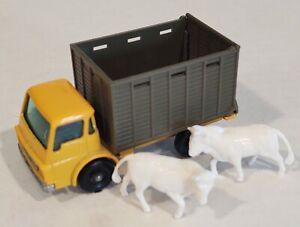 37-D1 Near MINT! Dodge Cattle Truck w/2 Cows Lesney Matchbox circa '66
