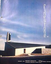 CANADIAN FINESTONE Corp. Catalog ASBESTOS Cement Board 1975