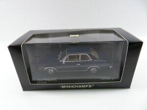 Minichamps 1:43 430046104 blue Opel Rekord C 2Door 1966 limitiert OVP #3631