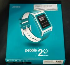 Pebble Heart Rate 2 Smartwatch- Aqua 1002-00068 Great condition! TESTED/WORKS!