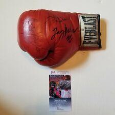 Larry Holmes Ken Norton Emile Griffith signed Everlast Boxing Glove w/JSA COA