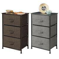 2/3/4 Tier Fabric Chest of Drawers Dresser Storage Shelf Bins Cabinet Furniture