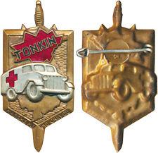 Ambulancières de la Légion Etrangère au TONKIN, argenté, Poinçon Arthus Bertrand