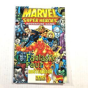 TSR Marvel Super Heroes - SAGA Fantastic Four - Roster Book J1