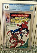 Amazing Spider-man #361 9.6 CGC 1st Full Appearance Of Carnage Cletus Cassidy