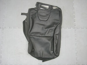GENUINE VOLVO XC60 RIGHT HAND REAR SEAT BACK COVER BLACK LEATHER 39804748