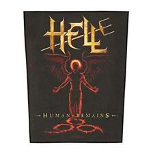 OFFICIAL LICENSED - HELL - HUMAN REMAINS BACK PATCH METAL