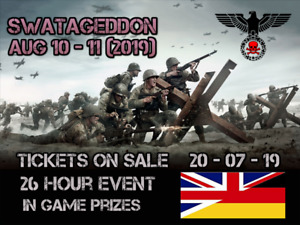 SWAT Big Game Tickets - Swat-Ageddon 2019 - Airsoft Event South wales