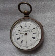 antique Swiss Made Centre Seconds Chronograph pocket watch