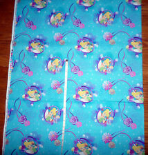 New Disney's TINKERBELL Petal Perfect - Large Print Cotton Fabric  - by the yard