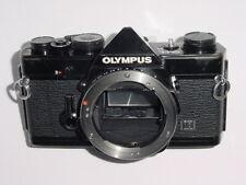 OLYMPUS OM-1N 35 mm film SLR manuel appareil photo-Noir