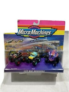 Micro Machines #39 Big Bruisers w/ Sea Exploration Vehicle by Galoob 1996 NIP