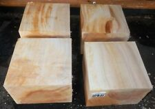 Figured Curly Maple 10851 Wood Workers Lathe Turning Special 4 Beautiful Blanks