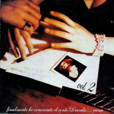 MINA MAZZINI Finalmente Ho Conosciuto IL Conte Dracula V.2 CD Riccardo COCCIANTE